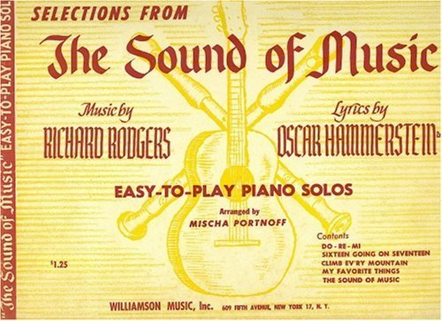 Selections From the Sound of Music: Easy-to-play Piano Solos