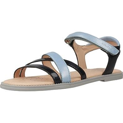 7f041c2f Geox J Sandal Karly Girl D, Girls' Open Toe Sandals: Amazon.co.uk ...