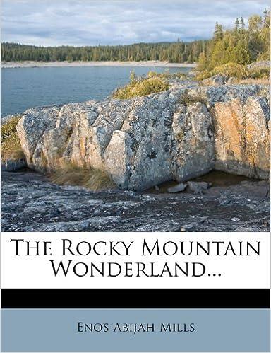 Book The Rocky Mountain Wonderland...