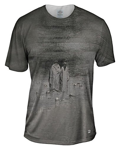 Yizzam- Gustave Dore - Cocytus-Traitors -Tshirt- Mens Shirt-Large