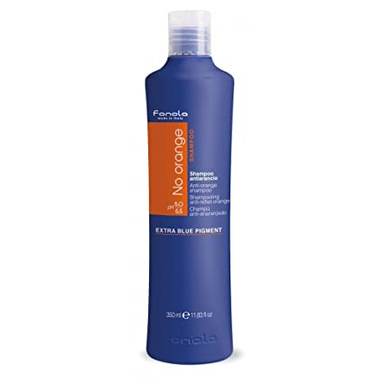 Fanola No Orange Champú Antirreflectante, 350 ml