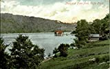 Rudyard Lake from Cliffe Park Other England Original Vintage Postcard