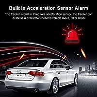 HAJZF Car Tracker GPS, Vibración/Cerca/Apagado Alarma/Más Velocidad/Móvil/SOS Perseguidor del Coche, gsm Localizador GPS A Prueba De Agua IP66: Amazon.es: Deportes y aire libre