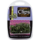 Growth Technology SUPCDA12 Plastic Decorative Daisy Plant Clips (Pack of 12)