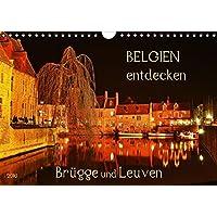 Belgien entdecken - Brügge und Leuven (Wandkalender 2016 DIN A4 quer): Juwelen mittelalterlicher Baukunst (Monatskalender, 14 Seiten) (CALVENDO Orte)