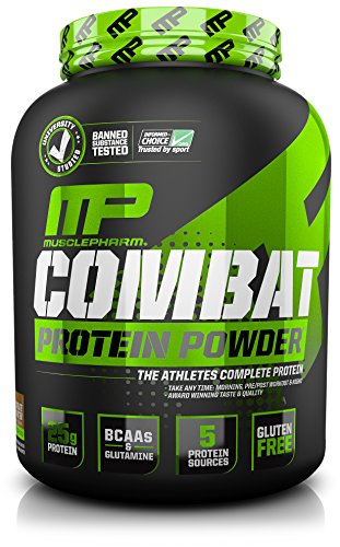 Muscle Pharm Combat Powder Advanced Time Release Protein, Chocolate Peanut Butter, 4 Pound