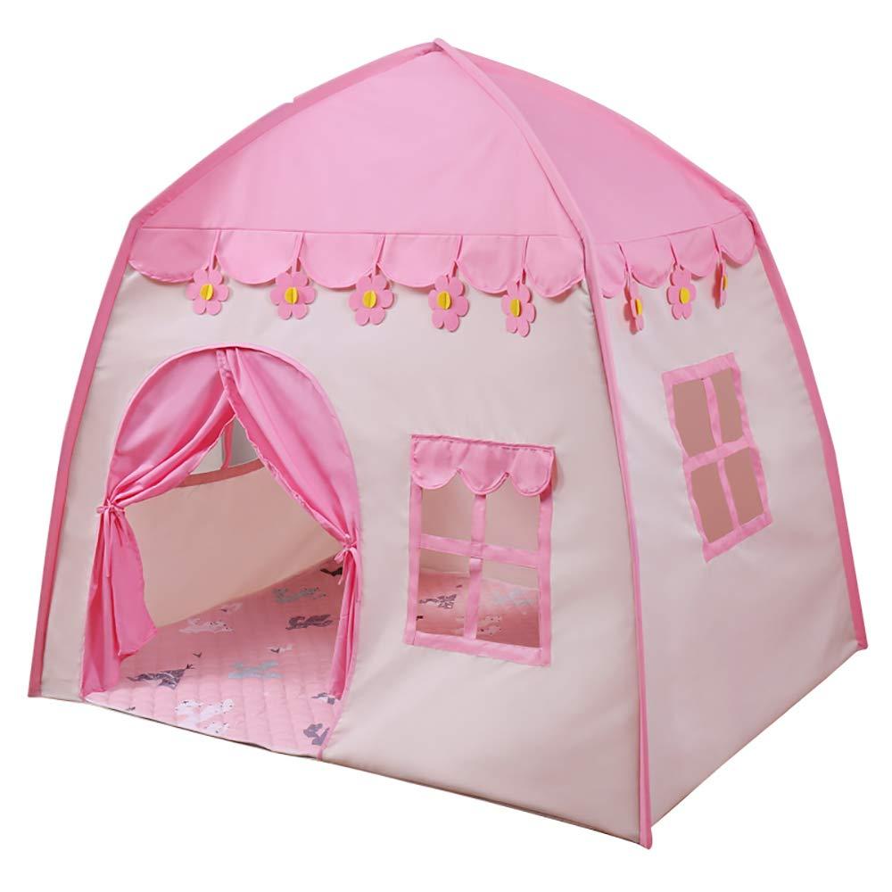 女の子のゲームのテントの生地の花の城の屋内および屋外のための子供のおもちゃの家をきれいにすること容易 2 pink 130*100*130CM pink 2 B07RKWXP75 B07RKWXP75, 【同梱不可】:2250ea57 --- number-directory.top