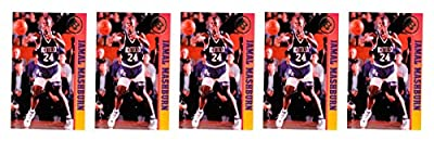(5) 1993 Ballstreet Jamal Mashburn Basketball Card Lot University of Kentucky