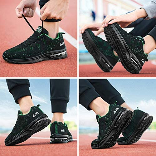 51QwLmptauL. AC Autper Mens Air Athletic Running Tennis Shoes Lightweight Sport Gym Jogging Walking Sneakers US 6.5-US12.5    Product Description