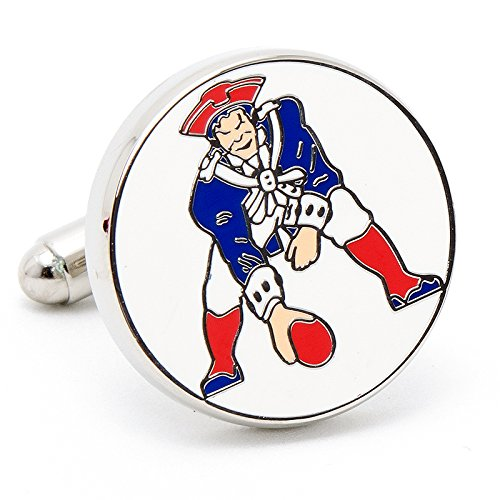 Vintage Patriots Cufflinks Novelty 1 x 1in