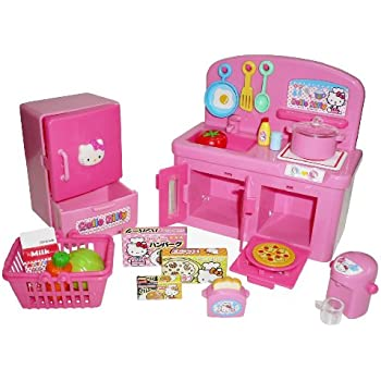 Amazon com CartWheel Kids Hello Kitty Kitchen Cafe Toys u0026 Games