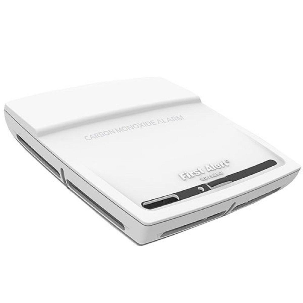 FIRST ALERT CO910B Photoelectric Carbon Monoxide Alarm, Tamper Proof, 10-Year Sealed Battery