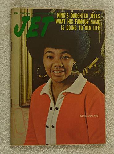 Yolanda (Yoki) King - King's Daughter Tells What His Famous Name Is Doing to Her Life - Jet Magazine - April 6, 1972 - Martin Luther King