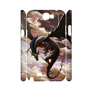 ALI Hard Dragon 3D Diy For SamSung Galaxy S4 Mini Case Cover [Pattern-1]