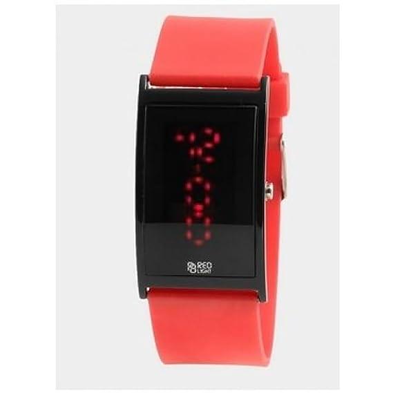 Pierre Bonnet Reloj Digital Rojo