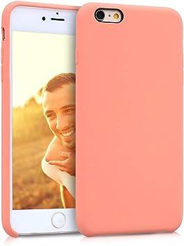 kwmobile Coque pour Apple iPhone 6 Plus / 6S Plus - Coque Housse - Housse de téléphone Corail