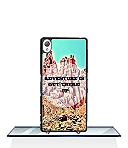 Disney Adventure Is Out There Xperia Z3 Funda Case, Cool Design Scratch Resistant Slim Drop Protection Protective Funda Case Cover for Sony Xperia Z3 (Not for Z3 V / Z3 Compact)