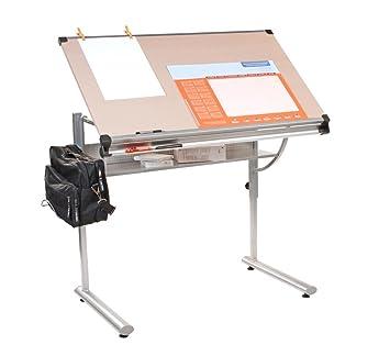 Coavas portátil plegable para ordenador portátil soporte de mesa escritorio, portátil cama bandeja, Mike color blanco color, color blanco: Amazon.es: ...