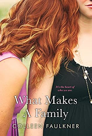 book cover of What Makes a Family