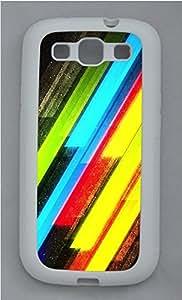 Samsung S3 Case Bright Lights TPU Custom Samsung S3 Case Cover White