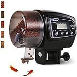 yIFeNG Fish Feeder,Automatic Fish Feeder Aquarium Auto System Food Dispenser Timer (F005)