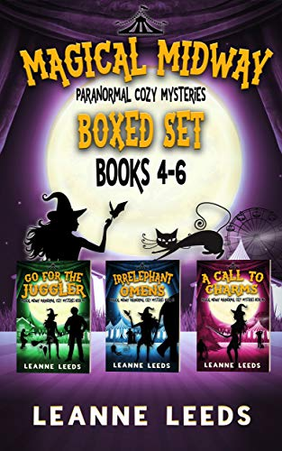Magical Midway Paranormal Cozy Mysteries Books 4-6 by [Leeds, Leanne]