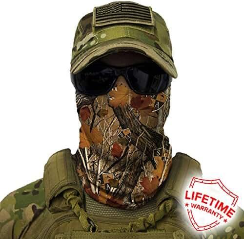 Salt Armour Face Mask Shield Protective Balaclava Bandana MicroFiber Tube Neck Warmer