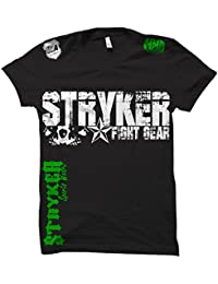 Skull Star MMA Ufc T-shirt with One (1) Free Tapout Sticker