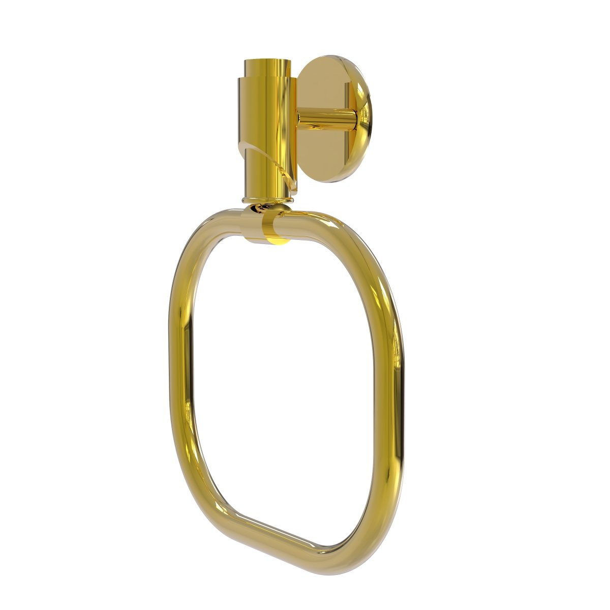 (Unlacquered Brass) TR-16-UNL Tribecca Collection Towel Ring, Unlacquered Brass B06X9YQGH5 ラッカーなし真鍮 ラッカーなし真鍮