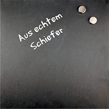Rheita Schiefer-Magnettafel: Amazon.de: Küche & Haushalt
