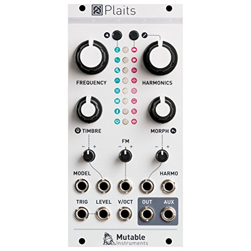 (Mutable Instruments Plaits Synth Module)