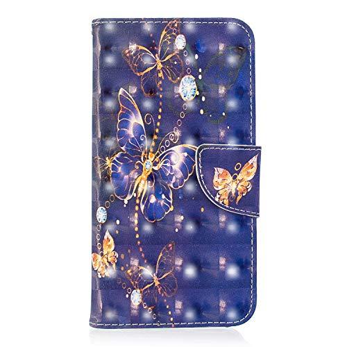 Lomogo Funda [Xiaomi Mi A2 Lite], Funda de Cuero con Cartera para Tarjetas y Cierre Magnetico Soporte Plegable Carcasa Libro...