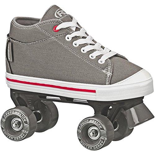 Boy's Roller Skate Size 05, Grey, 5 ()