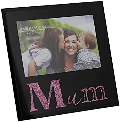 Mum Photo Frame With Pink Letters