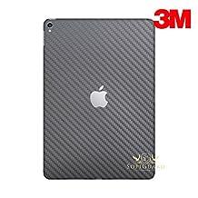 SopiGuard for Apple 2nd Generation iPad Pro 12.9 (A1670) Carbon Fiber Rear Panel Precision Edge-to-Edge Coverage Easy-to-Apply Vinyl Skins (3M Carbon Gunmetal Gray)