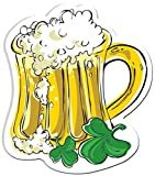 Block Buster Costumes Saint Patrick's Day Leprechaun Ale Mug Cut Out Decoration