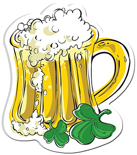 Block Buster Costumes Saint Patrick's Day Leprechaun Ale Mug Cut Out Decoration