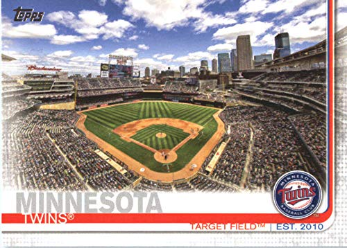 2019 Topps Series Two Baseball #424 Target Field Minnesota Twins Offical MLB Trading Card