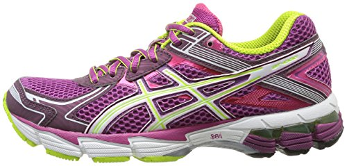 Asics Gt 1000 2 - Zapatillas de running para mujer, color Grape/Wht/Lime, Violeta (Grape/White/Lime), 36: Amazon.es: Zapatos y complementos