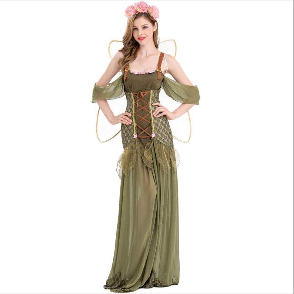 PAOFU-Disfraz de Hada de Halloween Carnaval para Mujer,Adulto ...