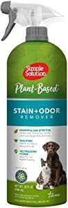 Simple Solution Plant-Based Stain and Odor Remover | All Natural Enzymatic and Pro-Bacteria Formula Made with Natural and Quality Plant-Based Ingredients | 32 oz