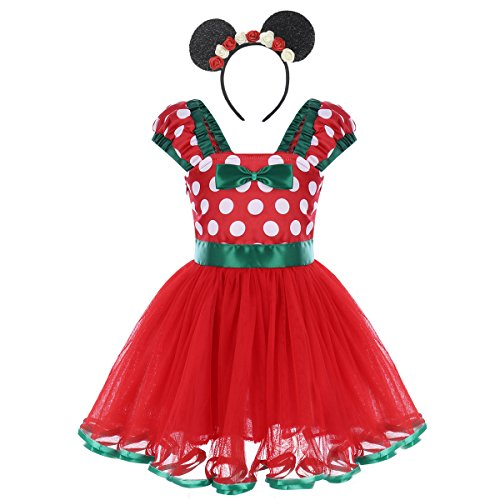 Temperate Winter Family Matching Dress Mother And Daughter Velvet Dress Kids Women Xmas Elements Red Santa Christmas Swing Tutu Dress Mother & Kids