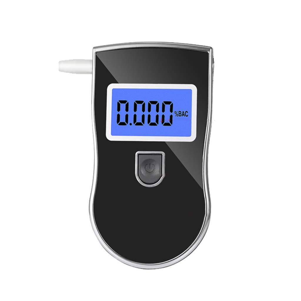 WEISHAZI Éthylotest portable à alcool avec affichage numérique précis et éclairage LCD pratique et léger