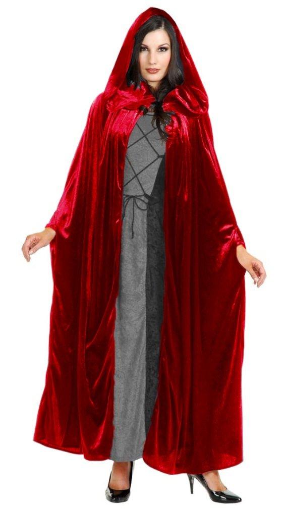 Beautiful Crushed Panne Velvet Hooded Cloak - Beautiful & Practical