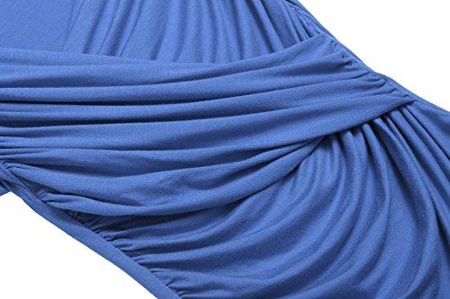 Para Zeagoo Zeagoo Camiseta Azul Camiseta Mujer xHwq0Ta0O