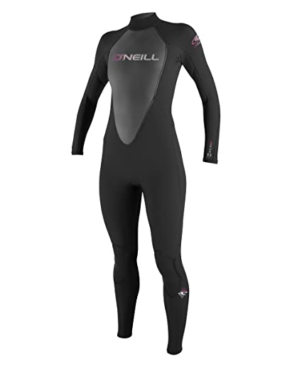 Amazon.com  O Neill Women s Reactor 3 2mm Back Zip Full Wetsuit ... 9b51e8d77