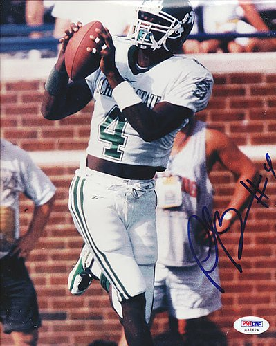 - Plaxico Burress Signed 8x10 Photograph Michigan State - Certified Genuine Autograph By PSA/DNA - Autographed Photo