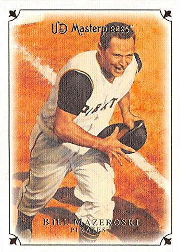 Bill Mazeroski Baseball Card Pittsburgh Pirates 2008 Upper
