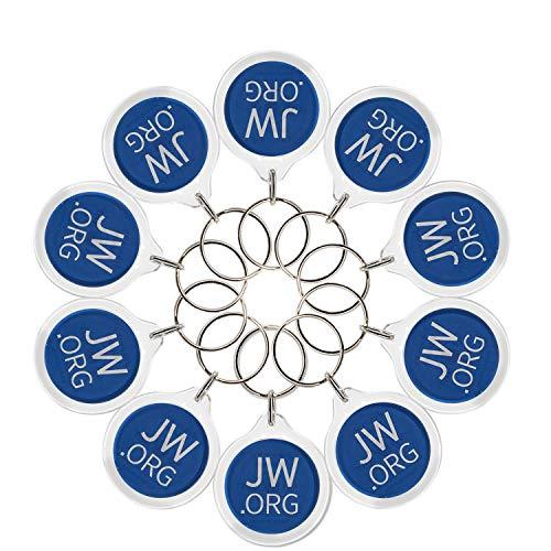 Round Jw.org No Blood Double Sided Key