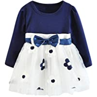Baby Girls Dress 0-3 Years Old Clothes Baby Girl Dress Autumn Cotton Cute Rabbit Princess Dresses Casual Long Sleeve Skirt Suit Houystory